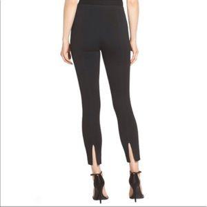 St. John Caviar Alexa Milano Black Knit Pants